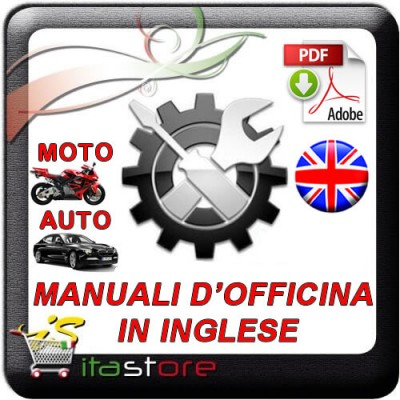 E1633 Manuale officina CITROEN BERLINGO e PEUGEOT PARTNER dal 1996 al 2005 - PDF in INGLESE
