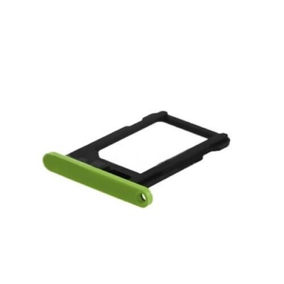 PORTA SIM CARD PER IPHONE 5C GREEN IP5C-118