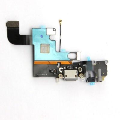 FLAT CONNETTORE DI RICARICA + MICROFONO DARK GREY BLACK PER IPHONE 6 SPACE GREY IP6-124