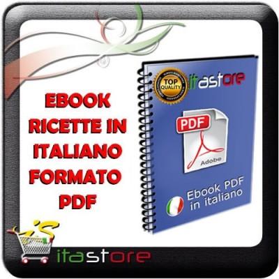 E1203 Ebook raccolta ricette cucina per forno a microonde in file PDF italiano