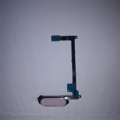 FLAT E PULSANTE HOME CON LETTORE DI IMPRONTE PER SAMSUNG GALAXY NOTE 4 SM-N910F PINK SAM-0271