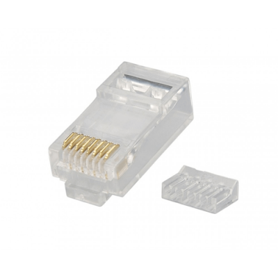 MACH POWER CONNETTORI PLUG DI RETE RJ45 UTP CAT.6 8P8C (CONF. 50PZ) - CV-LAN-027
