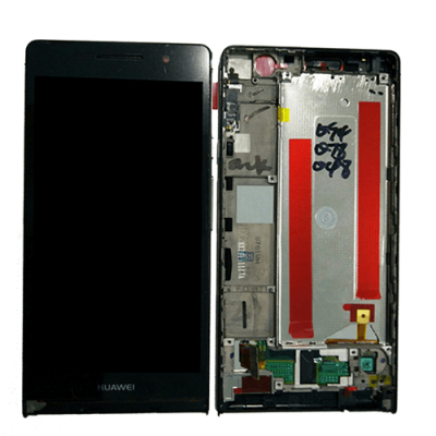 DISPLAY HUAWEI ASCEND P6 NERO CON FRAME