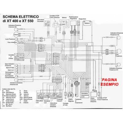 E1951 Manuale officina per moto Ducati 749 - 749 Dark - 749 S del 2006 PDF italiano